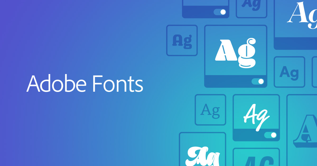 Adobe Fonts Explore Unlimited Fonts